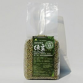 100^%天然油綠豆^(760g裝^),自然植栽,不 農藥化肥除草劑枯葉劑等,不磨光,不燻