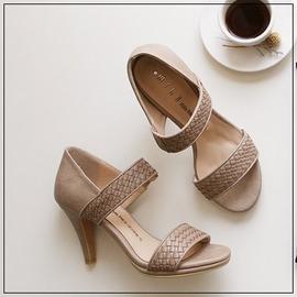 韓國妹~emr10116~韓國連線monobabie 正品. 高雅編織涼鞋. 2色225^