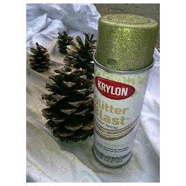 Krylon 保麗龍金蔥噴漆 可噴保麗龍不腐蝕 創作 華麗閃耀風格