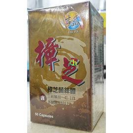 吉品胶囊 50颗/盒 (樟芝菌丝体含三萜类30-41.11%,多醣体20%以上)