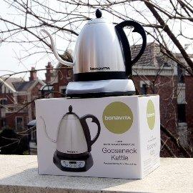 Bonavita冠軍手沖咖啡壺可調溫 定溫壺 精確溫控壺