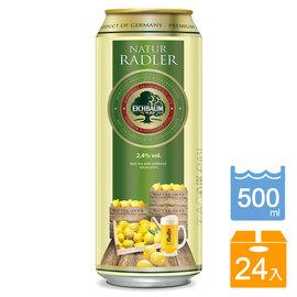 德國 橡樹啤酒EICHBAUM_檸檬啤酒^(500ml^~24入^) ~GoodSome