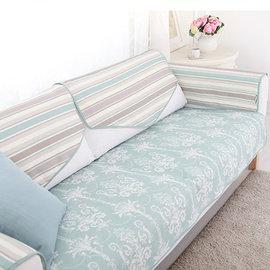 5Cgo ~ 七天交貨~44595393488 貝拉歐式美式沙發墊布藝坐墊四季親膚防滑沙發