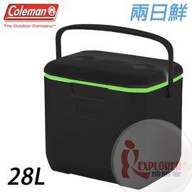 探險家戶外用品㊣CM-04552 美國Coleman 28L 限定配色兩日鮮 行動冰箱保冷冰桶保冷冰筒保冷箱保冷冰箱冰筒
