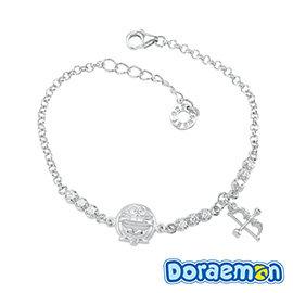 哆啦a夢Doraemon~愛神之箭~銀飾手鍊