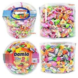 【吉嘉食品】土耳其 Damla黛瑪拉什錦軟糖/水果夾心軟糖 1盒1000公克170元,另售土耳其綜合水果QQ軟糖{8690997155689:1000}