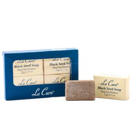La Cure~藍琪兒~Dead Sea 礦物黑籽小皂組~LC809~