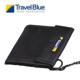 英國Travel Blue藍旅 TheCashCarrier防盜皮夾 黑色 皮夾|卡夾|零