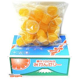 ~吉嘉食品~ AS 100^%天然果汁寶石果凍 果凍箱 柑橘蜜柑口味 1盒23入130元