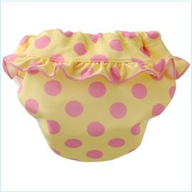 Baby Swim粉色圓點 三角泳褲