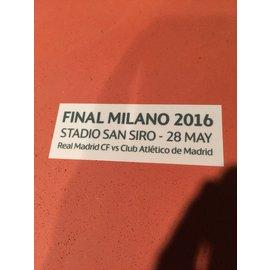 2016歐冠決賽比賽日期^(皇馬 馬競會用^)