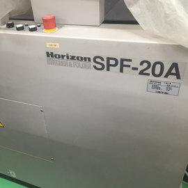 ◆仟寶兒K.C.I.C.◆ HORIZON SPF20A^(電腦觸控面板^) 中古釘摺機