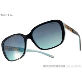 Tiffany CO.太陽眼鏡 TF4120B 80559S  黑~蒂芬妮綠  典雅 魅力