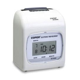 高柏COPER SS~6000C 六欄位電子LED打卡鐘~停電記憶 送卡片110張及卡架1