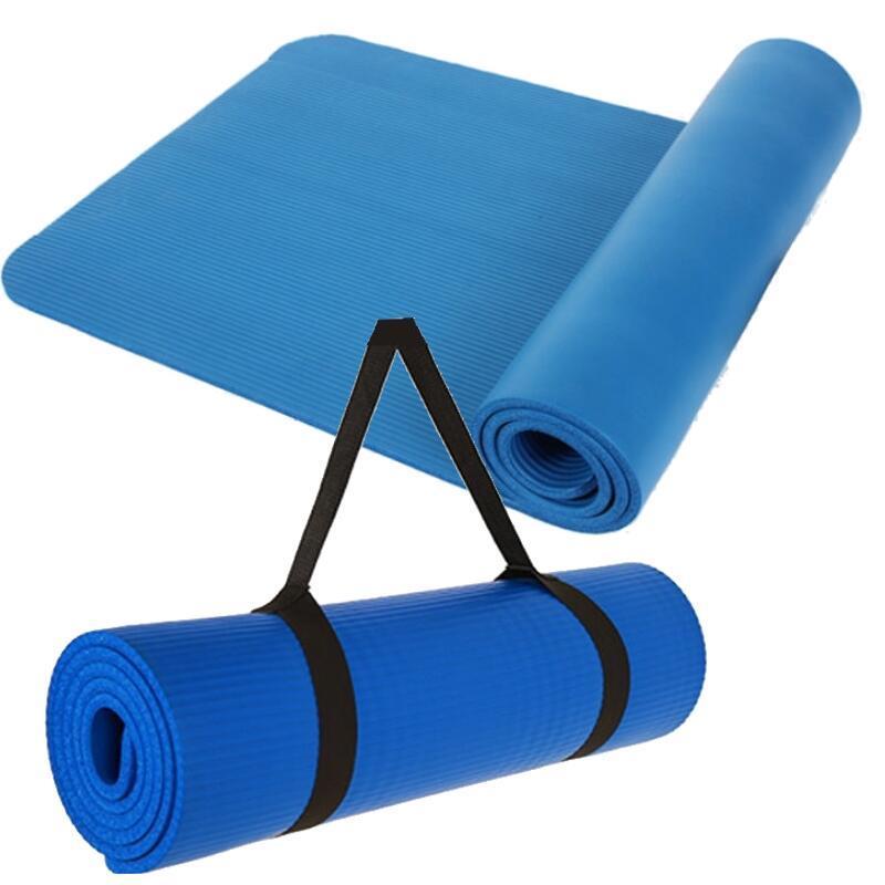 ~DE160~瑜珈墊NBR10mm 加厚 加長 環保瑜伽墊 遊戲墊 地墊 爬行墊 墊 防滑