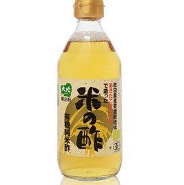 智慧有機體~大地~ 有機純米醋^(360ml 瓶^)^~玻璃瓶 不適宜