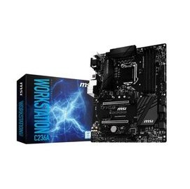~人言水告~MSI C236A WORKSTATION Intel C236 主機板~預計