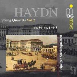 海頓:弦樂四重奏第 2 輯  萊比錫弦樂四重奏作品第50號~普魯士~No.1 4 5部Ha