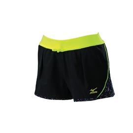 MIZUNO 黑色 抗紫外線 實搭 輕鬆女平織短褲 ~ 32TB628109 ~登瑞體育~