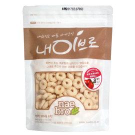 韓國 NAEBRO 銳寶草莓&蘋果圈圈點心40g