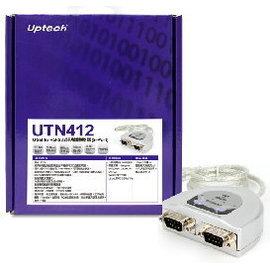~電子 ~Uptech USB to 2~Port RS~232訊號轉換器 ~ UTN41