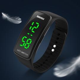 玩轉3C 時刻美潮男錶LED 腕錶果凍色情侶錶學生兒童電子錶手錶男學生