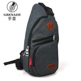 單肩包 GRENADE原宿街頭磨砂料潮包 胸包 NO:G027