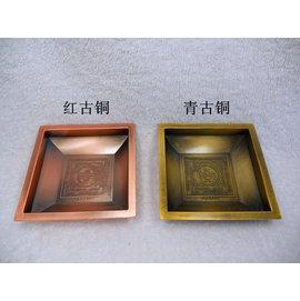 見即解脫多用途壇城銅香盤^(厚重型^)不拘放置任和物品 一個包郵