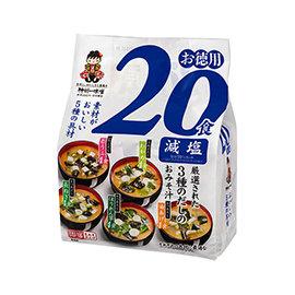 神州5種類減鹽味噌湯20食 ^(302g^)