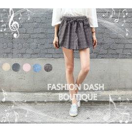 Q米皇后~夏日簡約風 百搭寬鬆寬口褲 短褲 休閒褲 褲裙 讓你的哈妮愛上你 ^(五色^)