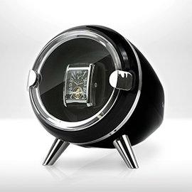 ~Jebely~機械錶自動上鍊盒 簡約風格 Ovo JBW090 黑 單手錶轉台 搖錶器
