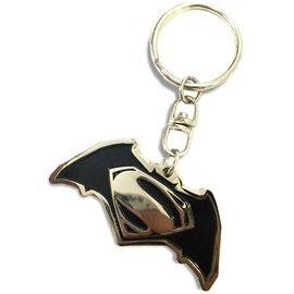 ~默肯國際~蝙蝠俠VS超人 合金鑰匙圈 KEYRING BATMAN VS SUPERMA