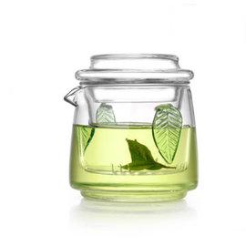 5Cgo ~ 七天交貨~ 44153571359 茶道玻璃茶壺小號過濾泡綠茶雙耳杯紅茶耐熱