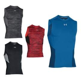 UA UNDER ARMOUR HG Coolswitch 男無袖緊身衣(緊身背心【06180248】≡排汗專家≡