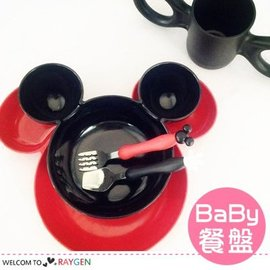 超萌米奇卡通造型大頭碗 水果盤 兒童餐盤【HH婦幼館】