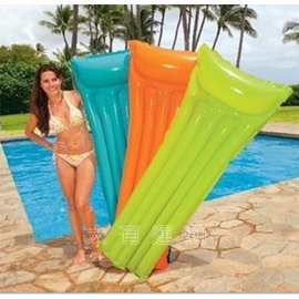 ~樂取小舖~INTEX 水上 螢光 浮排 浮床 充氣 兒童 沙灘 海邊 游泳 玩水 戲水
