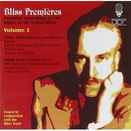 APR5627 布利斯作品首演錄音集Vol.1:鋼琴協奏曲、芭蕾組曲~亞當傑洛~ Blis