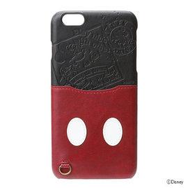 Hamee迪士尼 Disney iJacket 口袋 皮革背蓋 附票卡夾 iPhone6s