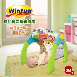 ^~WinFun^~ 三階段成長型健身架 多 健力架