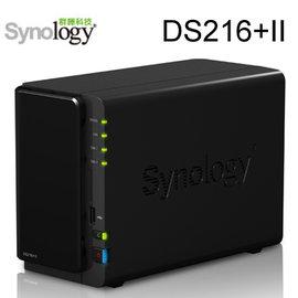 Synology群暉科技 DS216 II 2Bay 儲存伺服器~空機