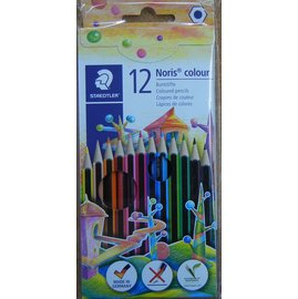德國施德樓WOPEX油性色鉛筆12色紙盒
