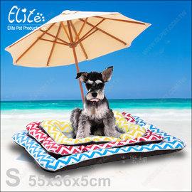 ~吉樂網~新 ^!美國Elite~波浪冰絲寵物涼墊S~柔軟舒適又散熱