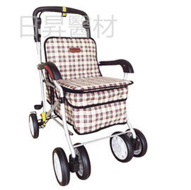杏華 F238銀髮健步車 散步車 車 ^(附置物袋^)