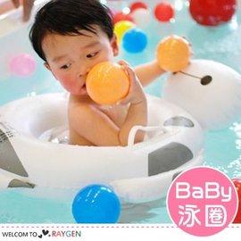 大白卡通兒童游泳圈 坐圈 浮板 0-5歲【HH婦幼館】