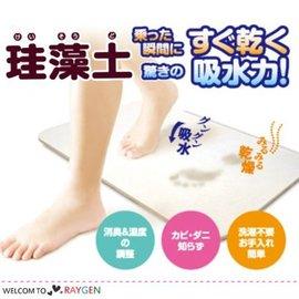 日本創意硅澡土除濕防潮吸水地墊 浴室專用【HH婦幼館】