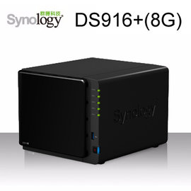 Synology群暉科技 DiskStation DS916 ^(8GB^) 4Bay 儲