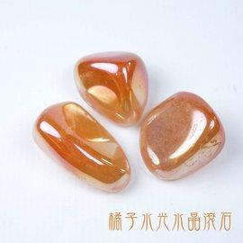橘子水光水晶滾石 夢幻的煉金術水晶