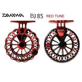 ◎百有釣具◎DAIWA BJ85 RED TUNE 閃電紅 亞洲限量版 超輕量前打輪