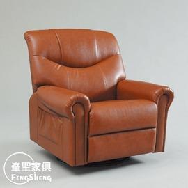 ~峯聖家俱~棕色 單椅^(1355^)-YC355~2