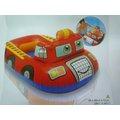 玩樂 美國INTEX 59380 消防車坐式充氣游泳圈 嬰兒坐圈 兒童浮圈 夏天玩水 游泳